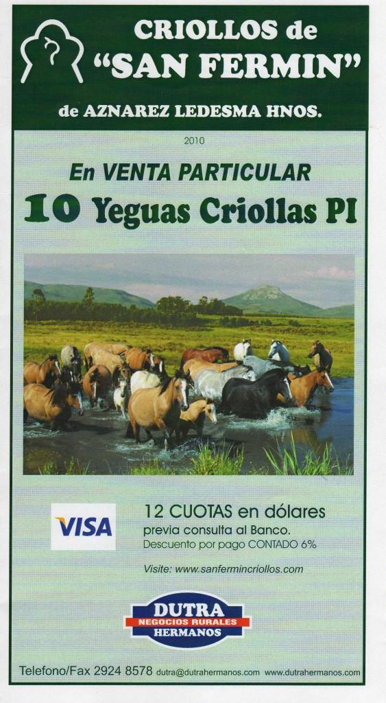 San Fermin Caballos Criollos catalogo-venta-particular-2010